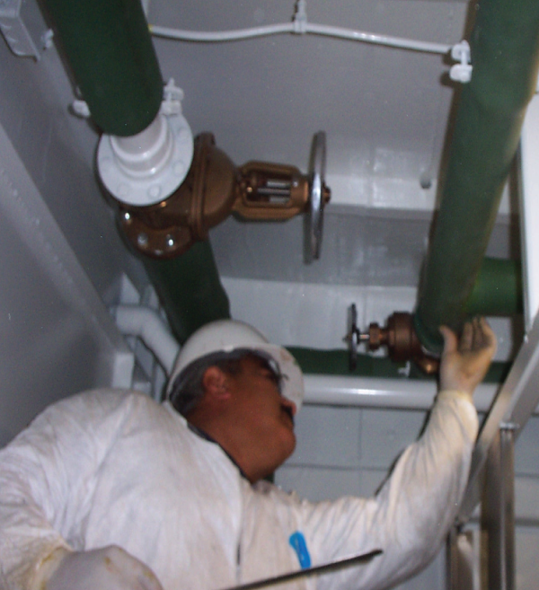 Oil rig marine industry insulation
