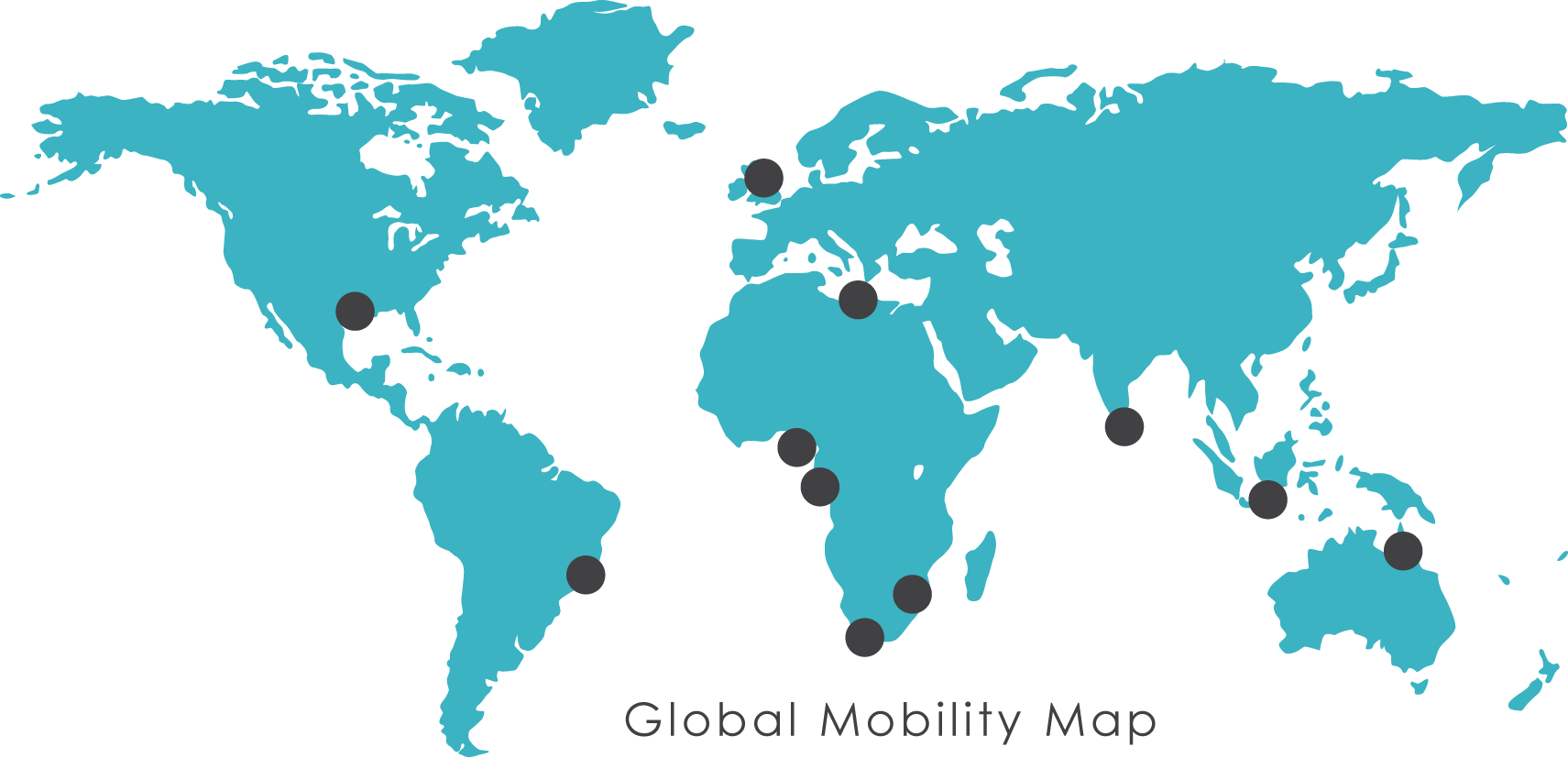 Global mobility map