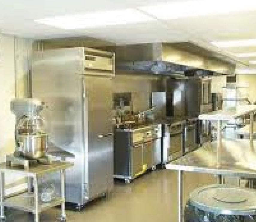 Kitchen installations for marine industry on ships oil rigs and naval vessels